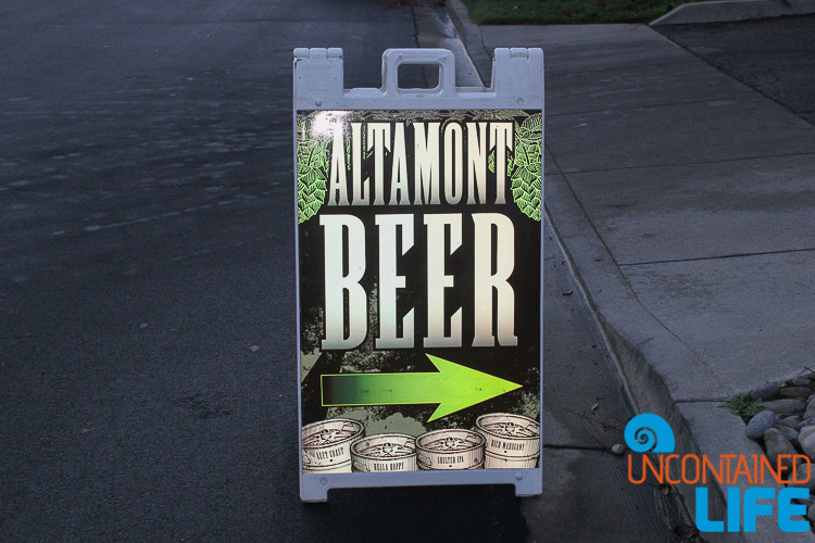 Altamont Beer Sign Livermore CA