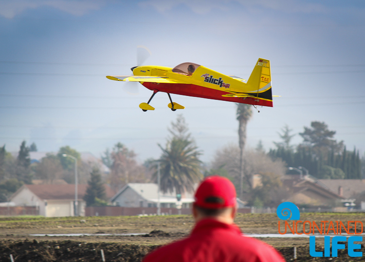 Flying Model Plane Pilot Livermore CA