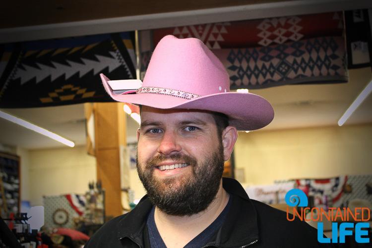 Pink Cowboy Hat Livermore CA