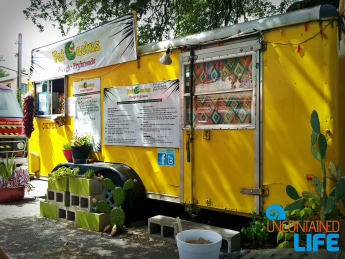 Austin, Texas, Food Truck, Save money on food while traveling, Uncontained Life