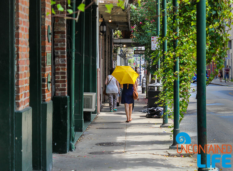 French Quarter New Orleans Umbrella