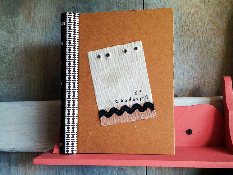 Go Wandering Handmade Journal Long Beach