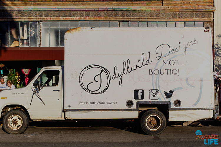 Idyllwild Designs Boutique Truck Long Beach CA