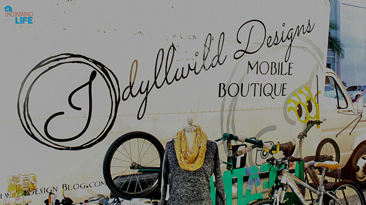 Idyllwild Designs Mobile Boutique Truck Long Beach CA