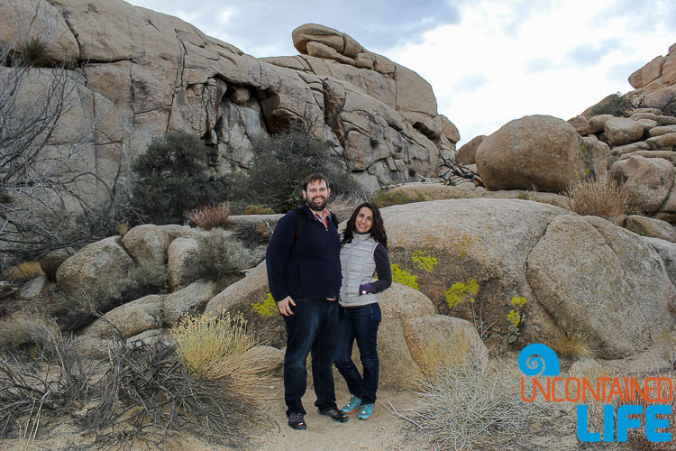 Justin and Hillary Joshua Tree