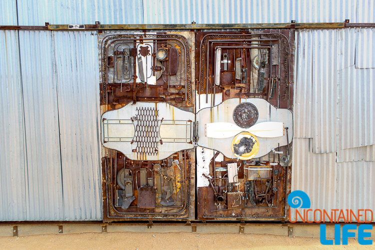 Assemblage Sculpture Door