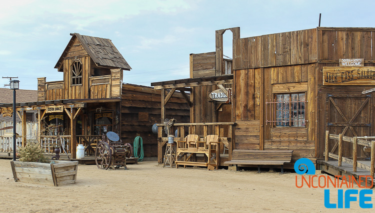 Pioneertown Western Movie Set