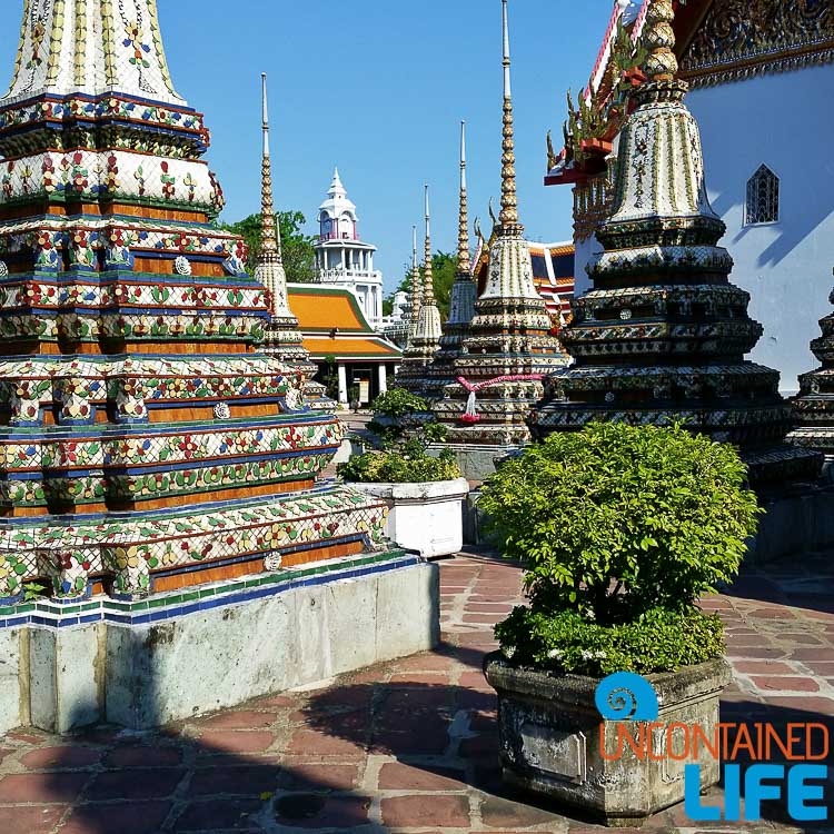 Wat Pho in Bangkok is inspiring.