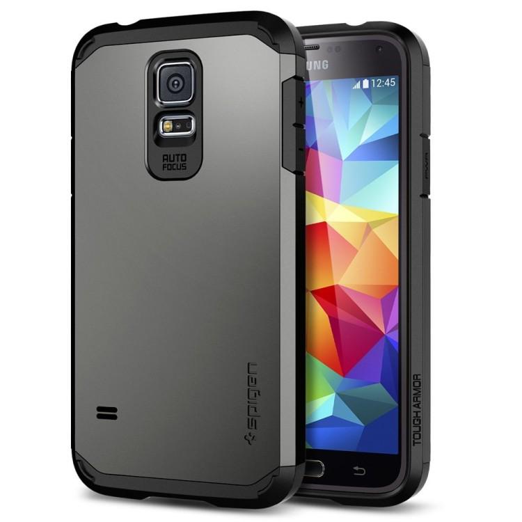 Spigen Tough Armor Case for Galaxy S5