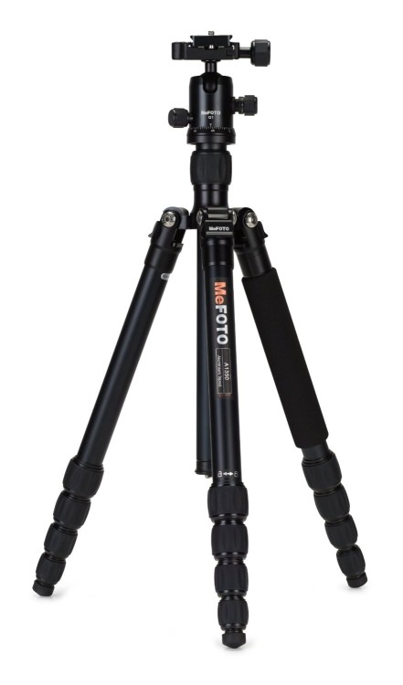 MeFOTO A1350Q1K Aluminium Roadtrip Travel Tripod Kit