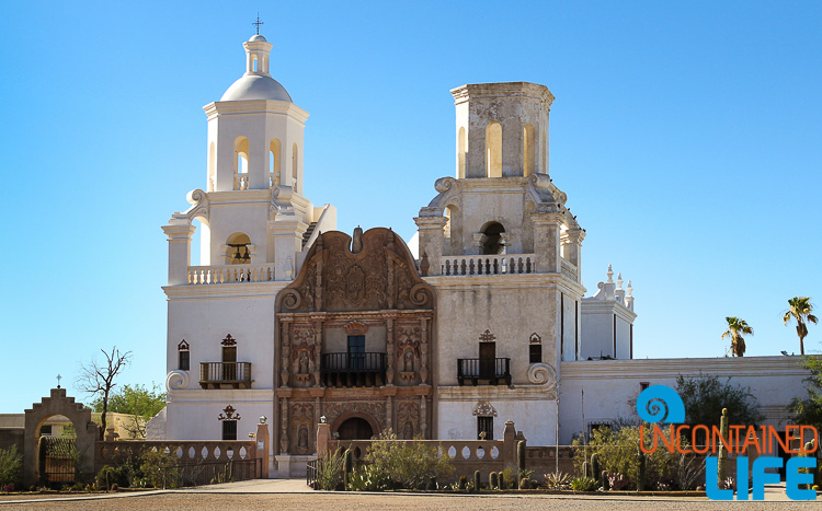San Xavier Bac Catholic mission Tucson AZ