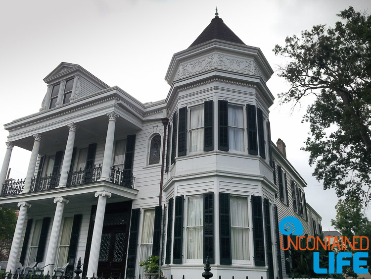 Garden District Victorian House New Orleans LA