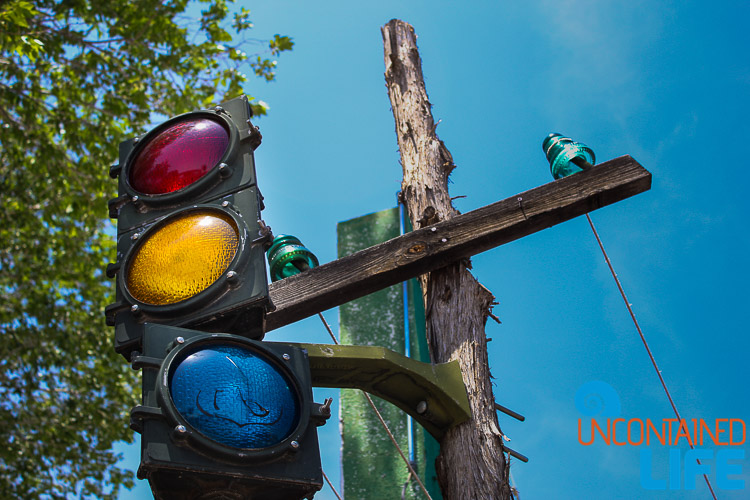 Seligman Arizona Traffic Signal