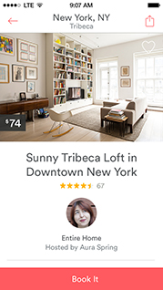 Airbnb screen capture