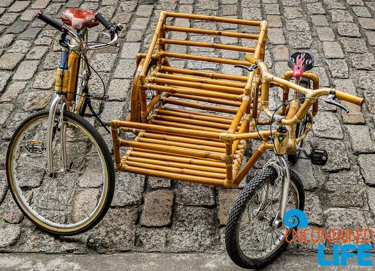 BamBike with bamboo sidecar