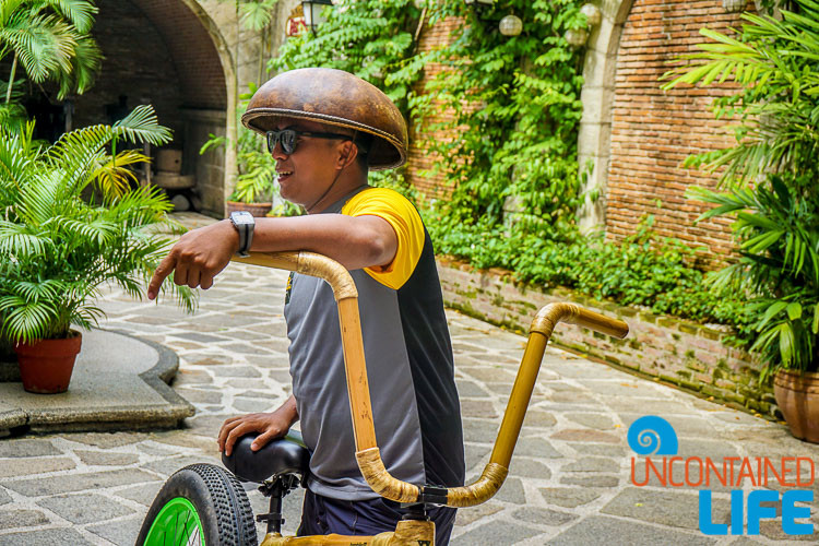BamBike Intramuros Tour Guide Manila Philippines