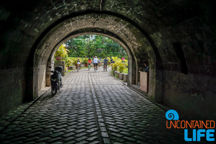 Intramuros Tunnel Manila Philippines
