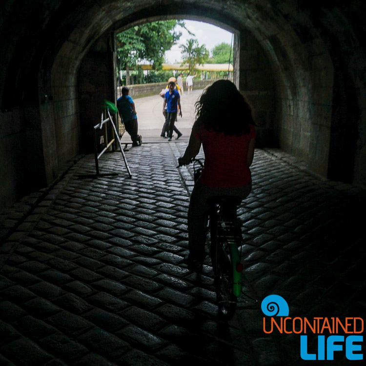 Bike tunnel Manila