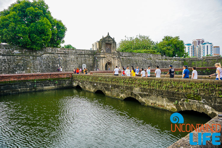Fort Santiago Intramuros Manila Philippines