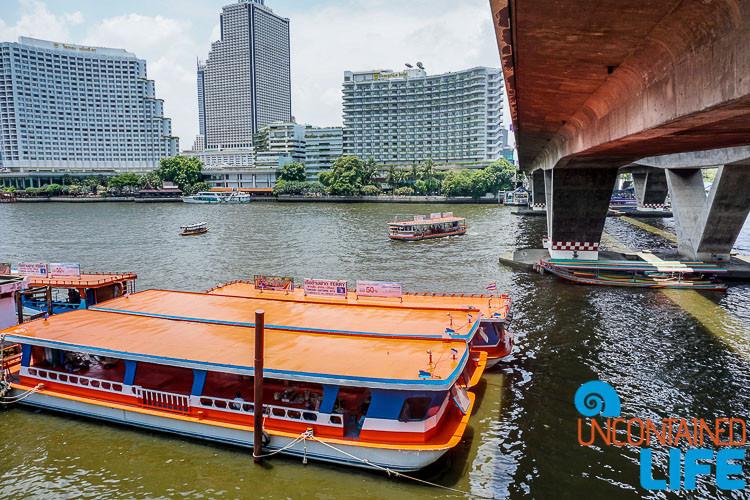Saphan Taksin Ferry Bangkok Thailand