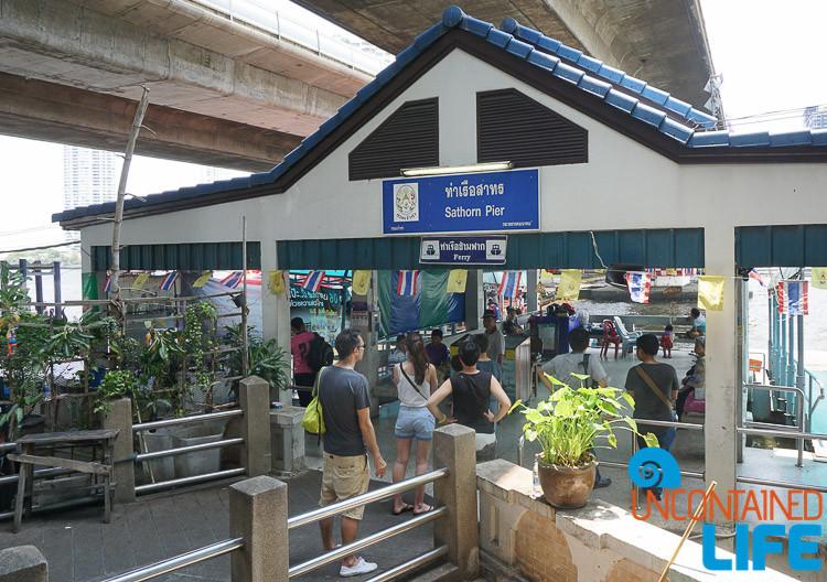 Saphan Taksi Pier Bangkok Thailand