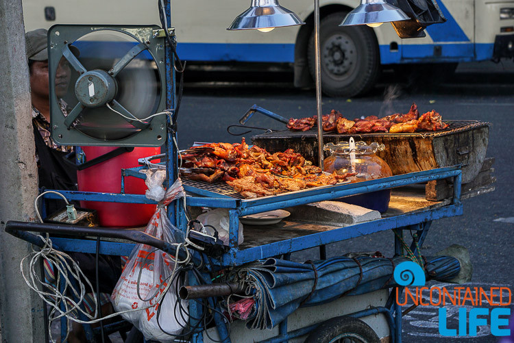 Street Food BBQ Bangkok Thailand