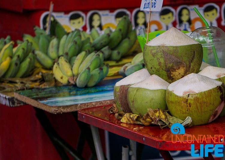 Bananas and Coconuts Bangkok Thailand