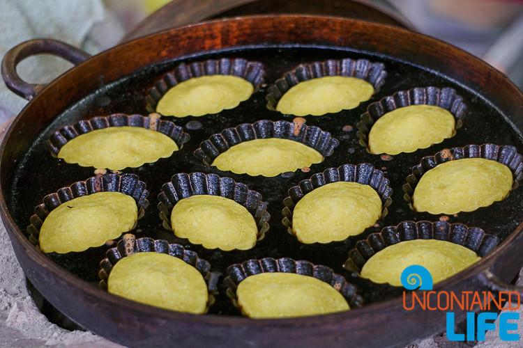 Coconut Pancakes Thailand Bangkok