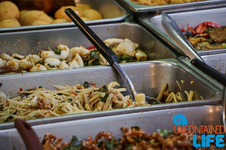 Street Food Tha Din Daeng Thailand Bangkok
