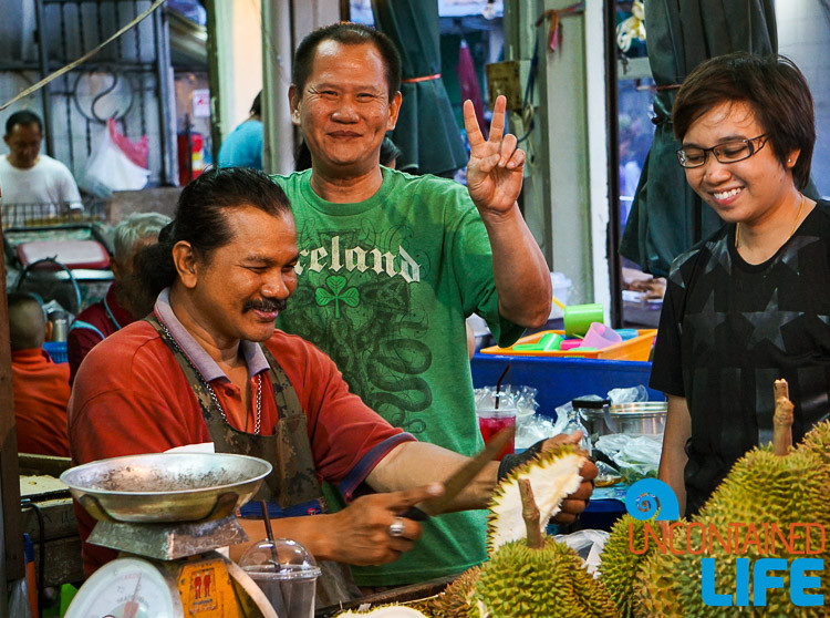 Durian Street Market Bangkok