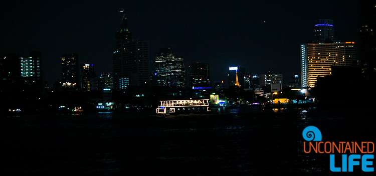 Bangkok Night Thailand River