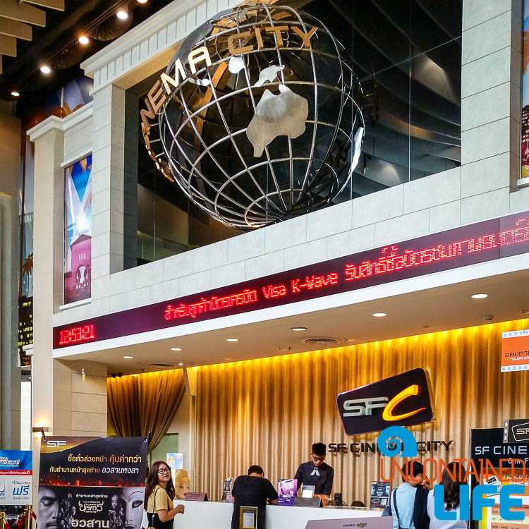 Movie Theatre Terminal 21 Bangkok Thailand
