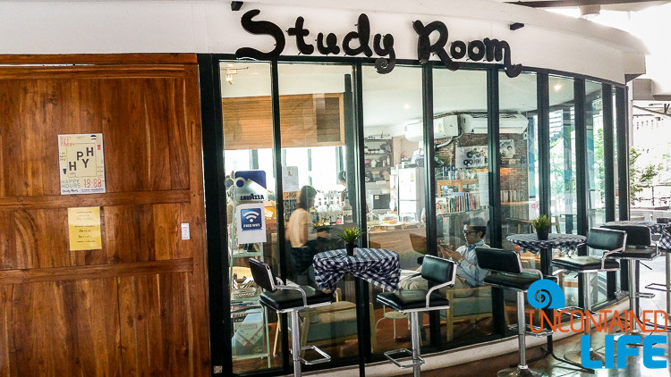 Study Room Coffee Shop Bangkok Thailand