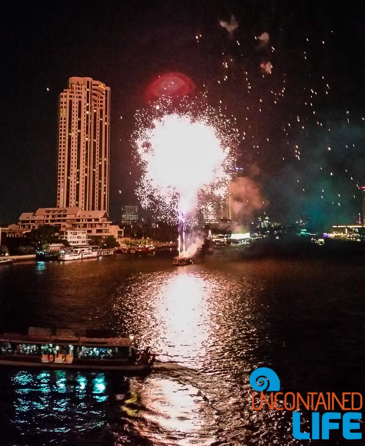 Chao Phraya River Fireworks Bangkok