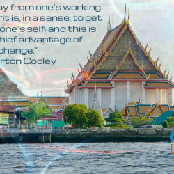 Charles Cooley Quoto Thailand Bangkok