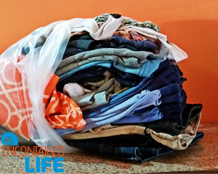Folded Laundry Packing Tips