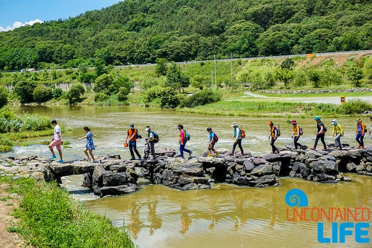 Hiking, Rock Bridge, Jincheon, Off the Beaten Path in South Korea, Uncontained Life