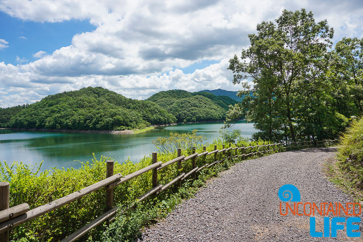 Reservoir, Path, Jincheon, Off the Beaten Path in South Korea, Uncontained Life