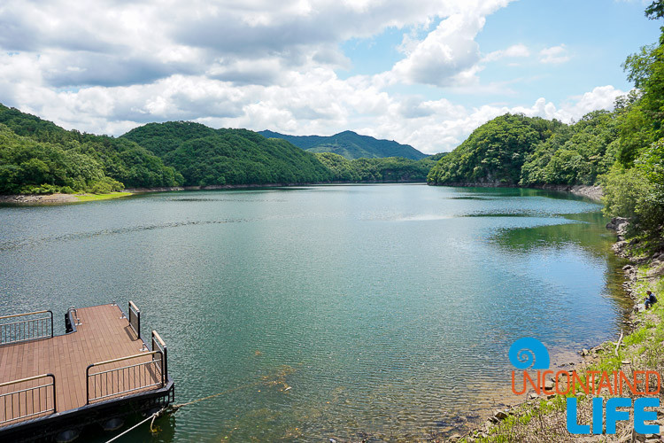 Reservoir, Lake, Jincheon, Off the Beaten Path in South Korea, Uncontained Life
