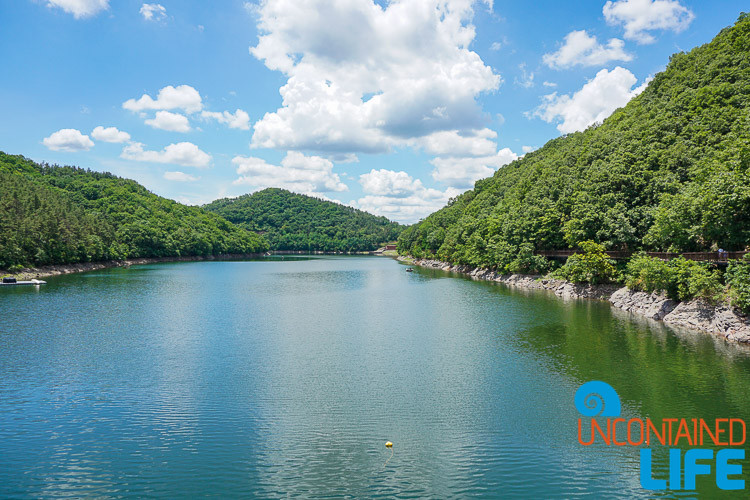 Lake, Jincheon, Off the Beaten Path in South Korea, Uncontained Life