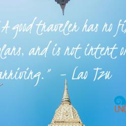 Lao Tzu Quoto: Wat Pho Thailand