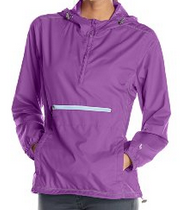 White Sierra Women's Packable Anorak Jacket