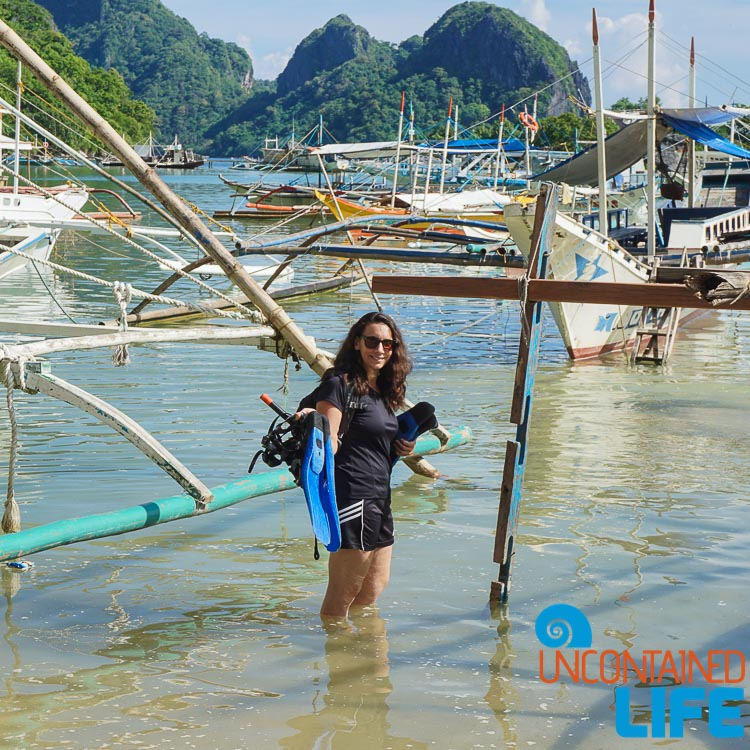 Uncontained Life Wade in El Nido