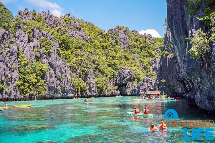 Crystal Waters Cliffs and Kayaks El Nido