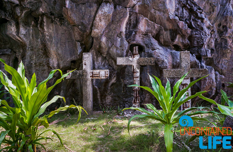 Three Crosses Matinloc Shrine