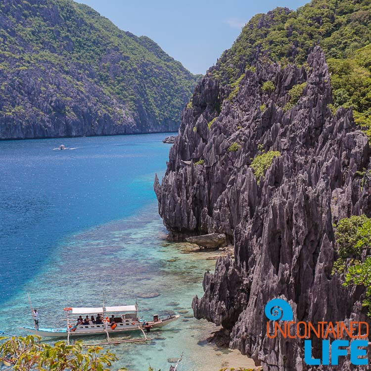 Island Hopping, Cliffs, El Nido, Palawan, Philippines, Uncontained Life