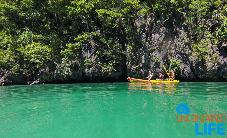 Small Lagoon Kayaking El NIdo