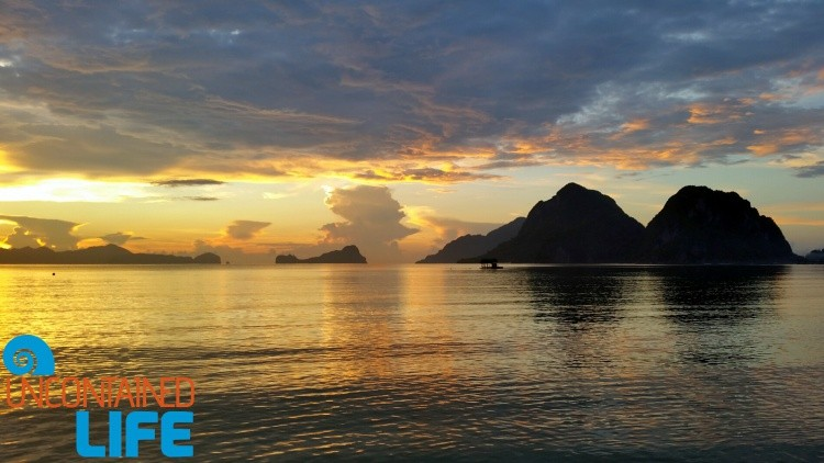 Sunset, Islands, El Nido, Palawan, Philippines, Uncontained Life