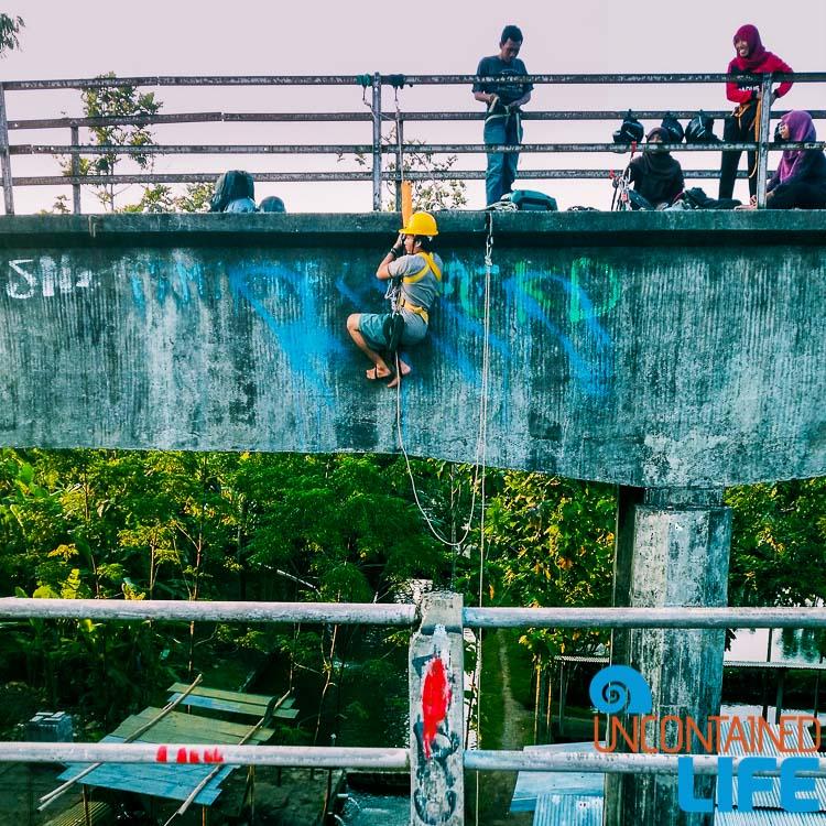Jogjakarta Bridge Rapelling