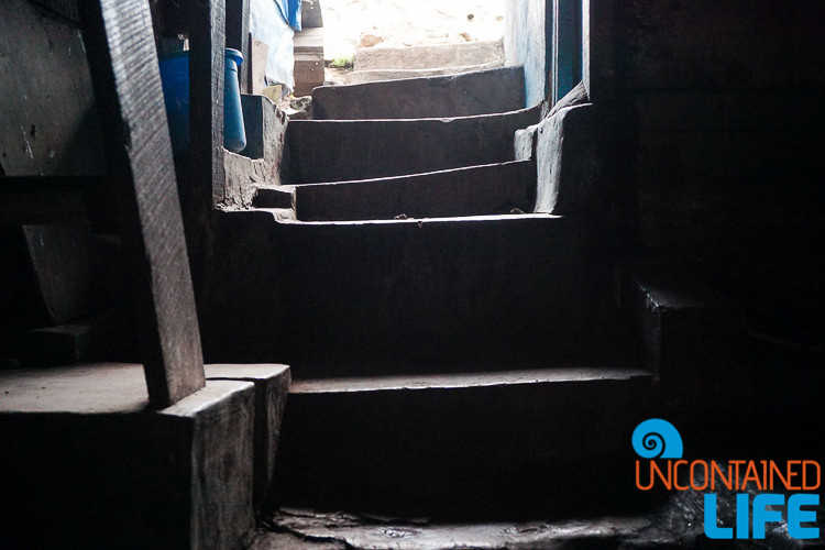 Jakarta, Indonesia, Slums Staircase, Uncontained Life